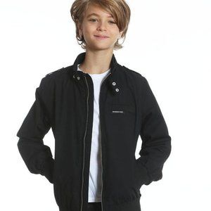 Members Only Black Iconic Racer Jacket